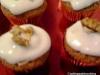 Clon de Cupcakes de Zanahorias con glaseado de crema de queso