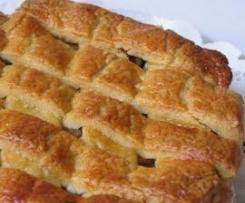 Tarta de manzana holandesa (APPELTAART)