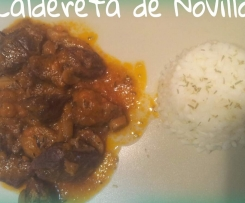 Caldereta de Novillo