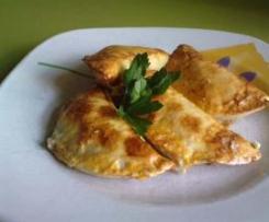 Empanadillas rápidas de bechamel (de jamon y huevo)