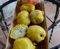 "Corazones Alcachofas ""tempura"""