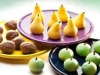 Frutas de Mazapán (plastilina comestible)