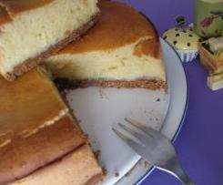 Pastel a los 2 quesos