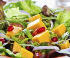 Ensalada de Mango con Aderezo de Albahaca