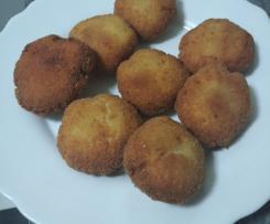 Nuggets de pollo y queso Cookinando