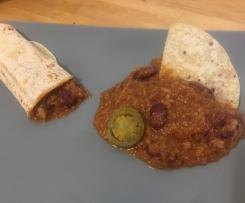Chili beans con carne