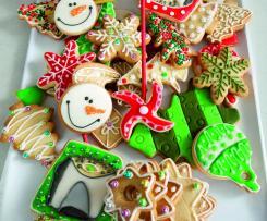 Galletas de Navidad  (Galletas de Mantequilla)