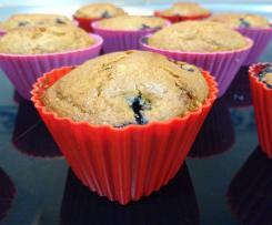 Variaciones Muffins de arándanos negros (Receta canadiense)