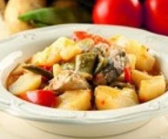 Patatas con judías verdes y bonito (TM31 y TM21)