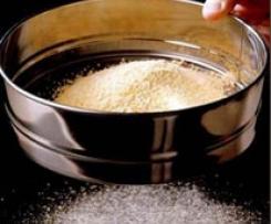 Preparación de harinas