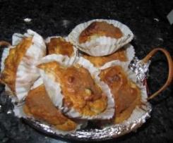 Muffins rellenos de fruta