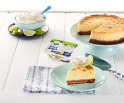 Cheesecake con lima con Arla ®
