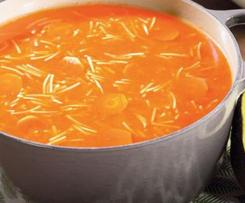 ¿Cómo hacer sopa de fideo?