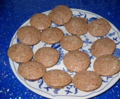 Galletas de almendra , chocolate y coco