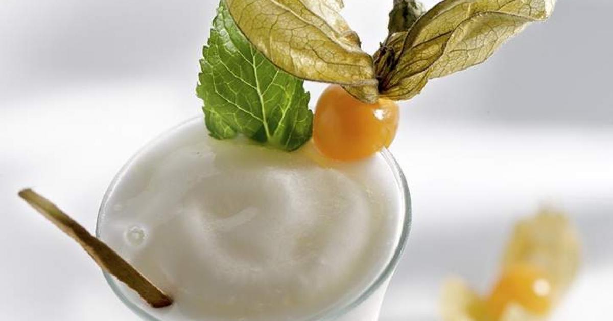 Sorbete de vainilla cava y lim n por somarsae la receta - Sorbete limon al cava ...