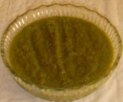 Mermelada de judias verdes