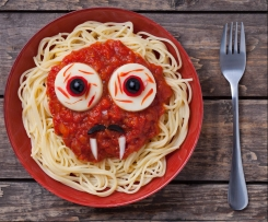Espaguetis terroríficos