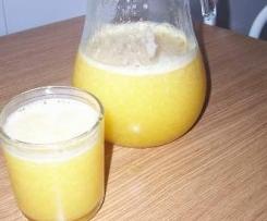 zumo de naranja y limon