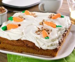 Pastel Brownie de Zanahoria