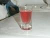 Licor casero de fresas