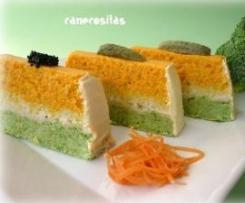 Pastel rápido de verduras