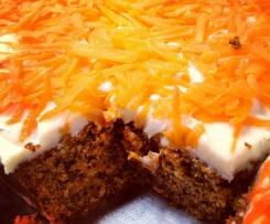 Pastel de Zanahoria Glutenfree (Sin Gluten)