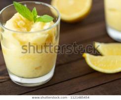 Sorbete de limón y naranja