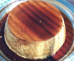 Flan De Huevo Al Baño Maria