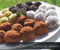 TRUFAS DE Chocolate y Café al whisky (Pastelería JUNCAL)