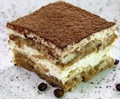Tiramisú tradicional