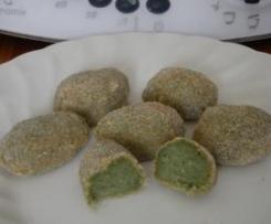 Croquetas de espinacas sin gluten