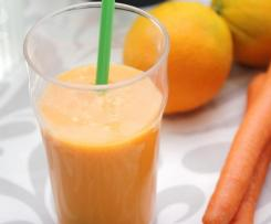 Smoothie de naranja, zanahoria y jengibre