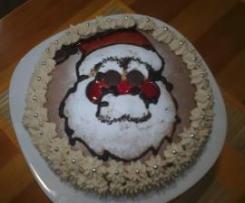 """Tarta de Navidad """"Papá Noèl"""""""