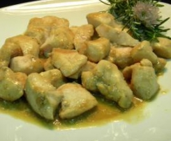 Pechuga de pollo con salsa de soja en bolsa (Dieta Dukan)