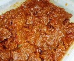 Carne guisada con tomate (sin glutem y sin lactosa)