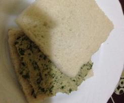 Pasta de sandwich de berros y atún