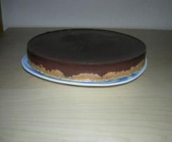 Tarta mousse de chocolate con cuajada