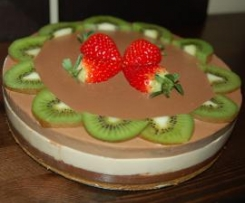 Tarta 3 chocolates menos dulce