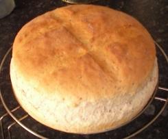 Pan de pueblo con jamón serrano