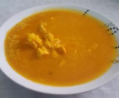 Arroz caldoso con pechuga de pollo
