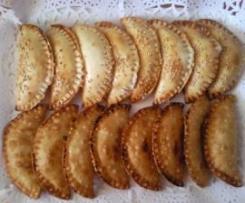 Empanadillas con Bechamel de Jamón y Huevo