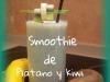 Smoothie de Plátano y Kiwi