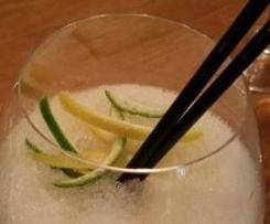 Sorbete de gin tonic
