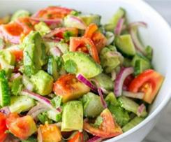 Avocado salad for weight loss