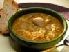 Sopa de setas al Jerez