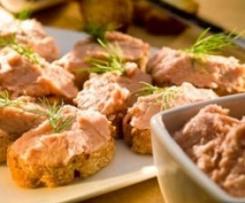 Paté de salmón al eneldo, de Rosa Ferruz