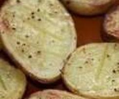 Patatas asadas a la abuela