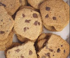 Cookies con pepitas de chocolate
