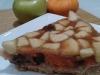 Tarta de calabaza y manzana, sin azúcar (vegana)
