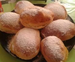 Carmelas (bollo relleno de crema)
